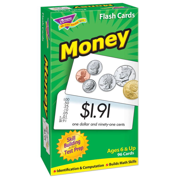 T53016 Flash Cards Money Box Left