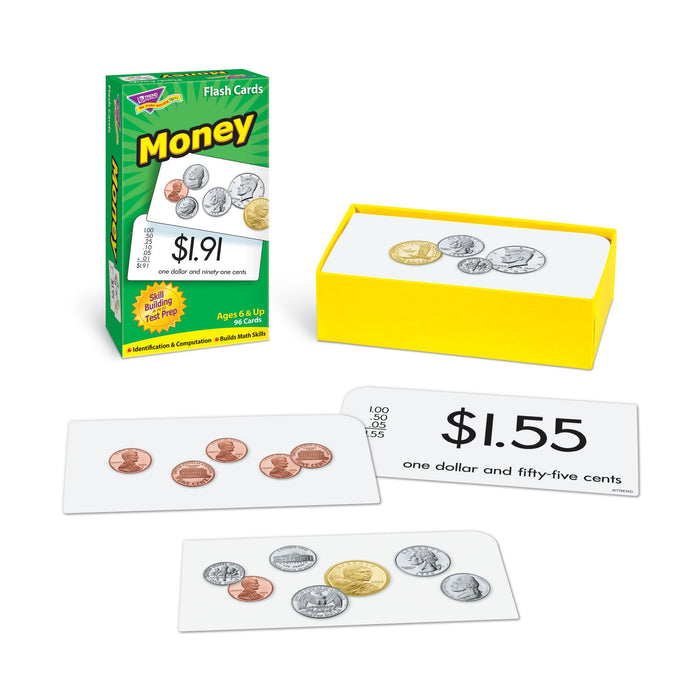 T53016 Flash Cards Money