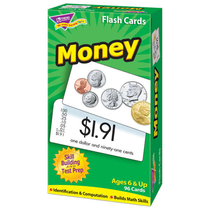 T53016 Flash Cards Money Box Right