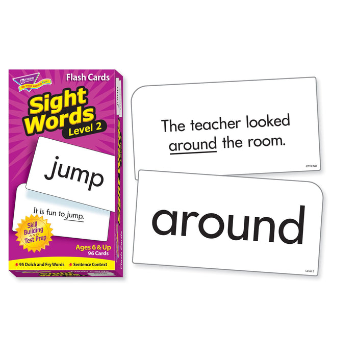 T53018 Flash Cards Sight Words 2