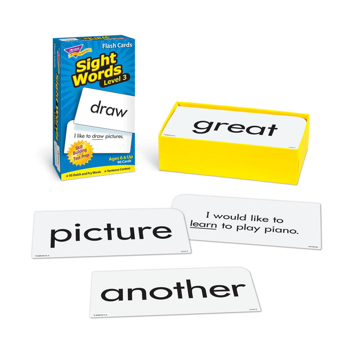 T53019 Flash Cards Sight Words 3