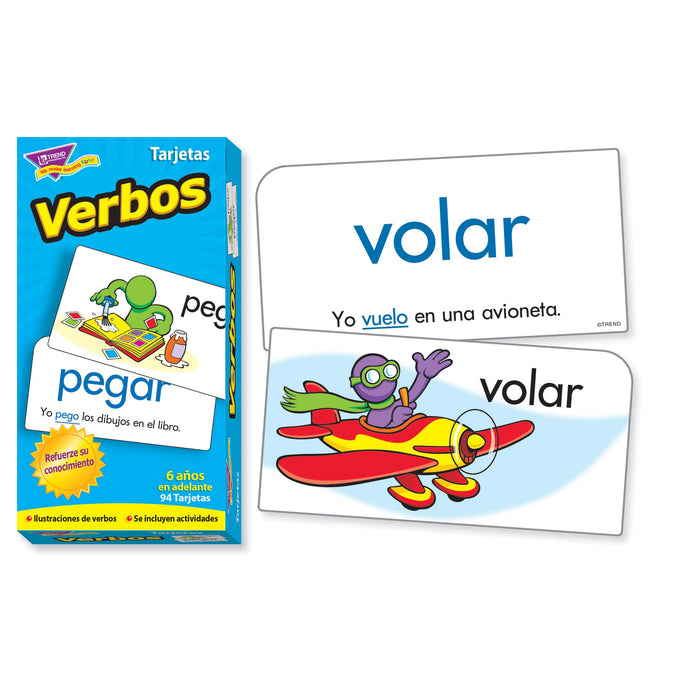 T53020 Flash Cards Verbos