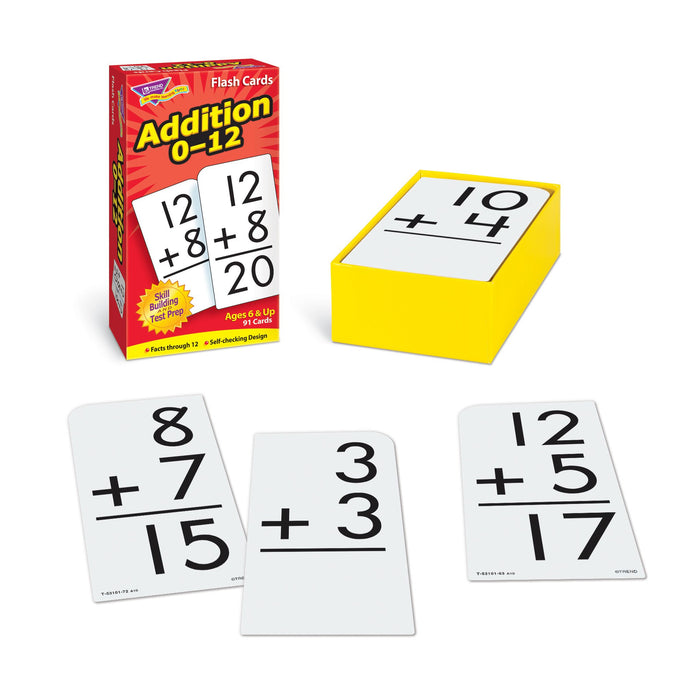 T53101 Flash Cards Addition 0-12