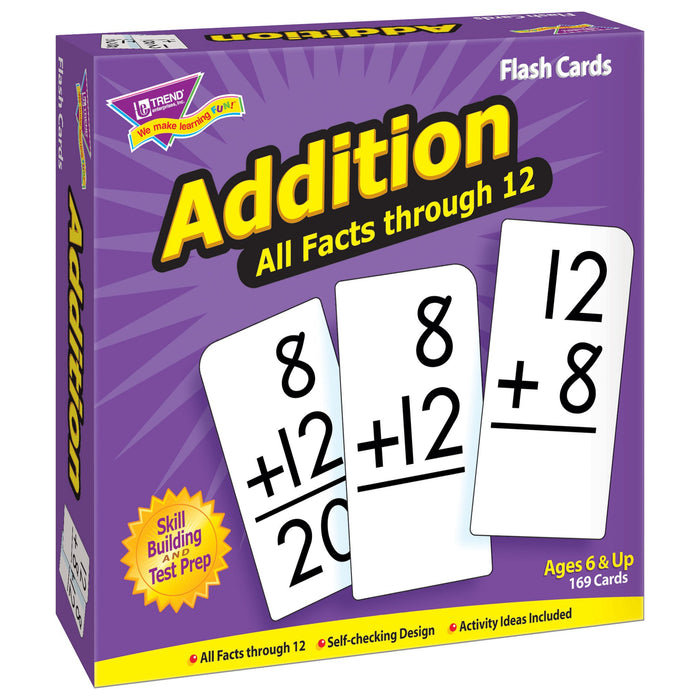 T53201 Flash Cards Addition Box Left