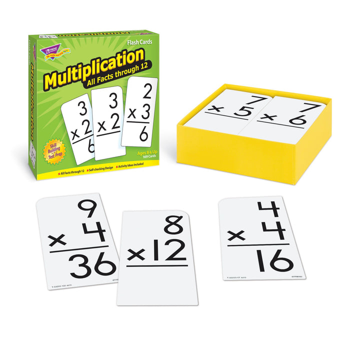 T53203 Flash Cards Multiplication