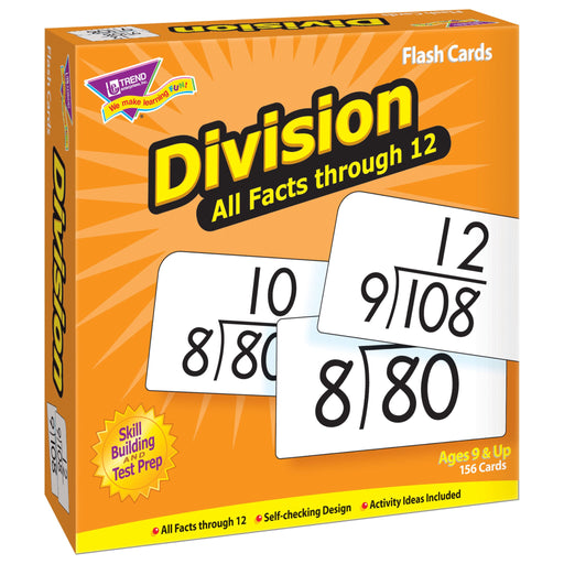 T53204 Flash Cards Division Box Left