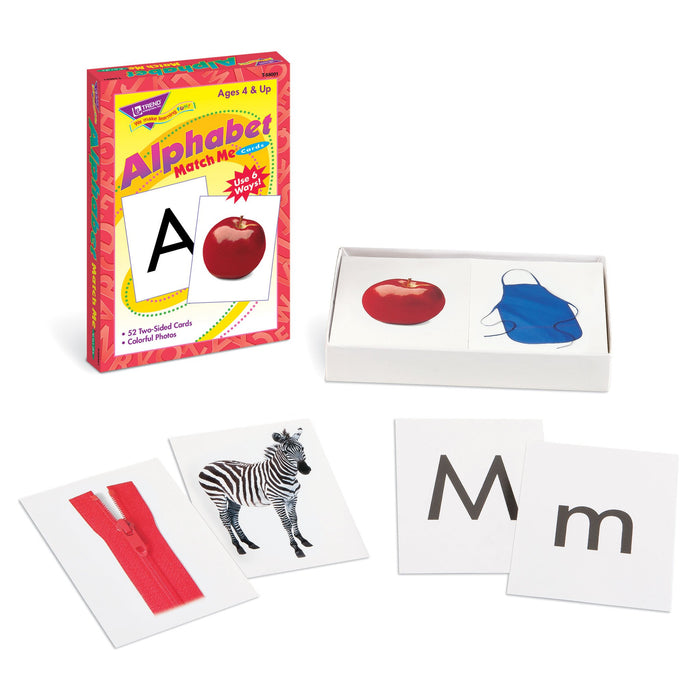 T58001 Matching Flash Cards Alphabet