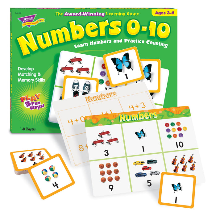 T58102 Matching Game Numbers