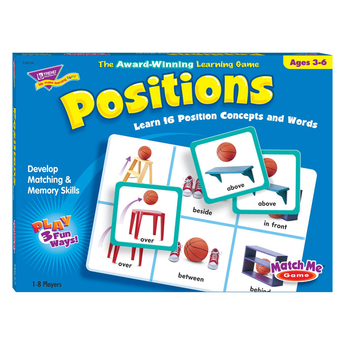 T58104 Matching Game Positions Box Front