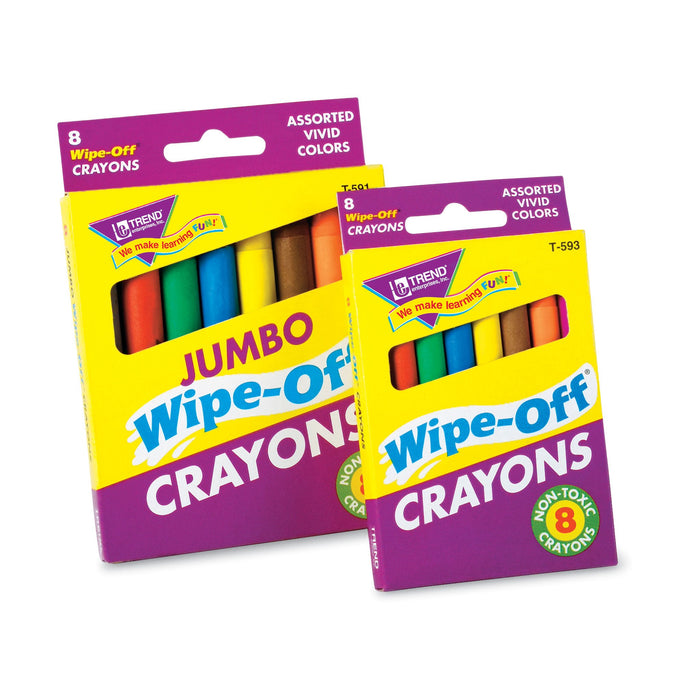 T591 Wipe Off Crayons