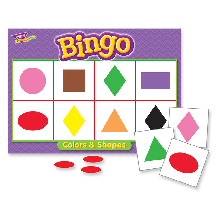 T6061 Bingo Game Color Shape