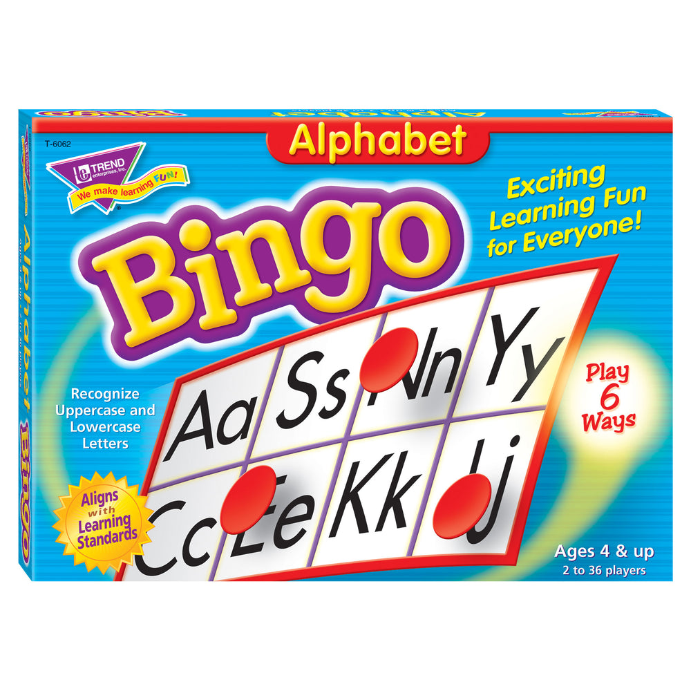 T6062 Bingo Game Alphabet Box Front