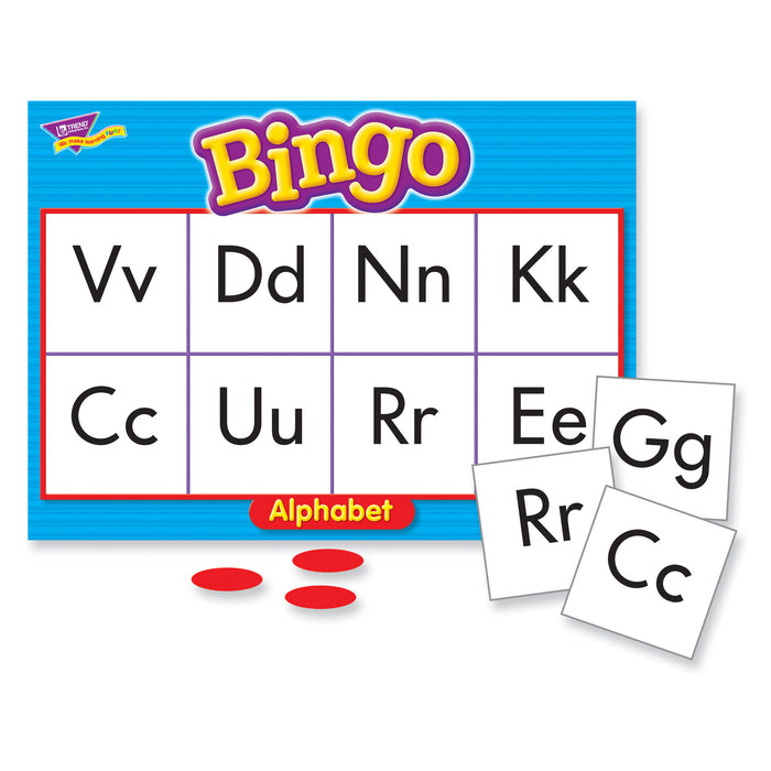 T6062 Bingo Game Alphabet