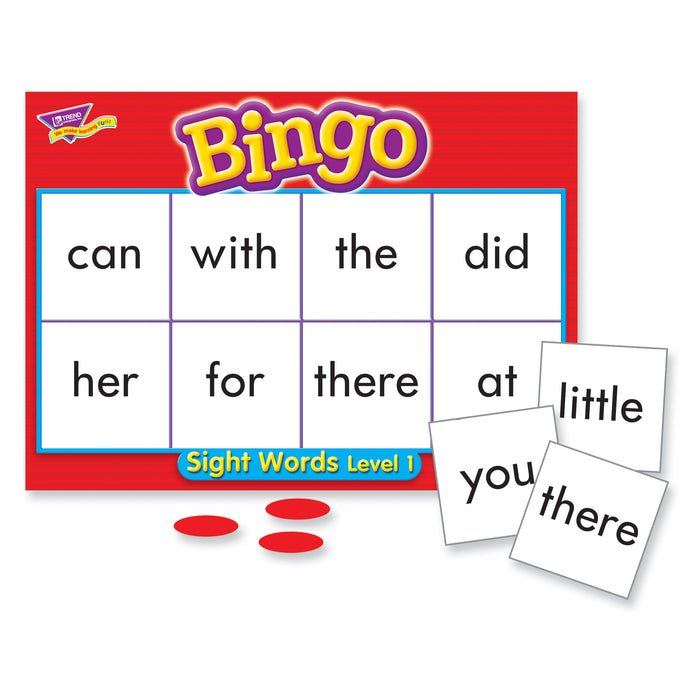 T6064 Bingo Game Sight Words 1