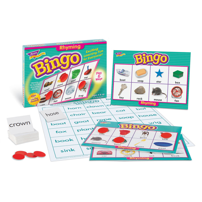 T6067 Bingo Game Rhyming