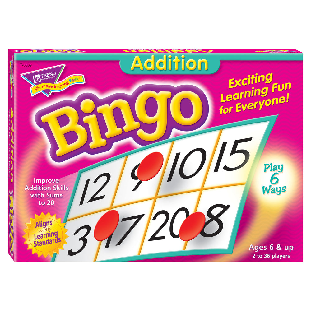T6069 Bingo Game Addition Box Front