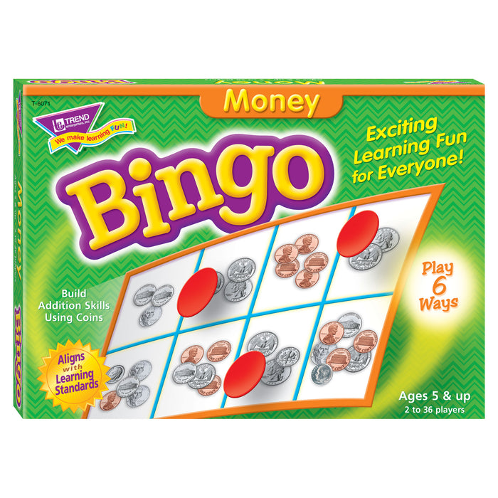 T6071 Bingo Game Money Box Front