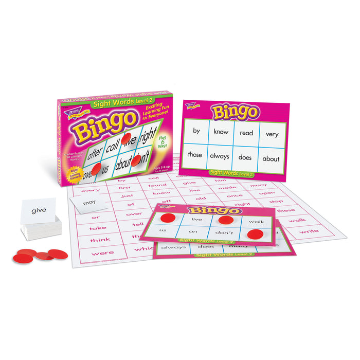 T6076 Bingo Game Sight Words 2