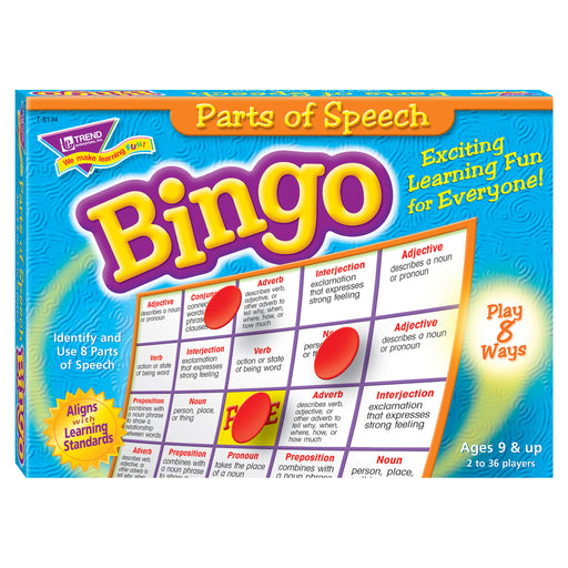 T6134 Bingo Game Parts Speech Box Front
