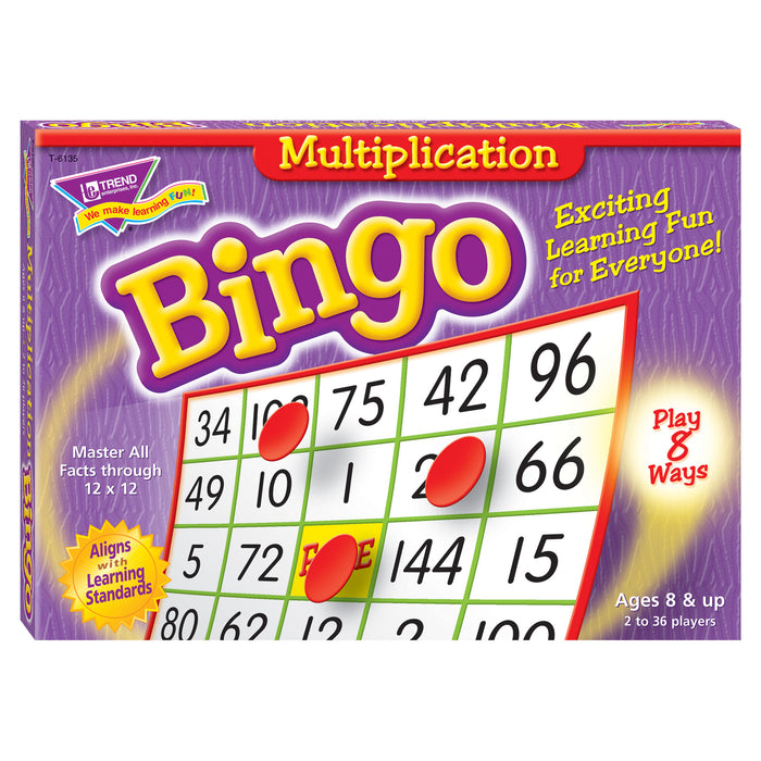 T6135 Bingo Game Multiply Box Front