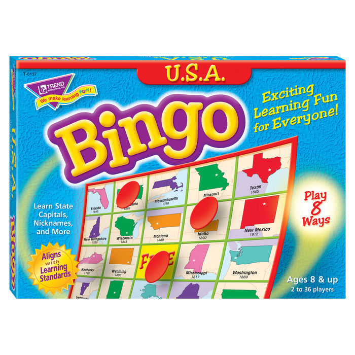 T6137 Bingo Game USA Box Front