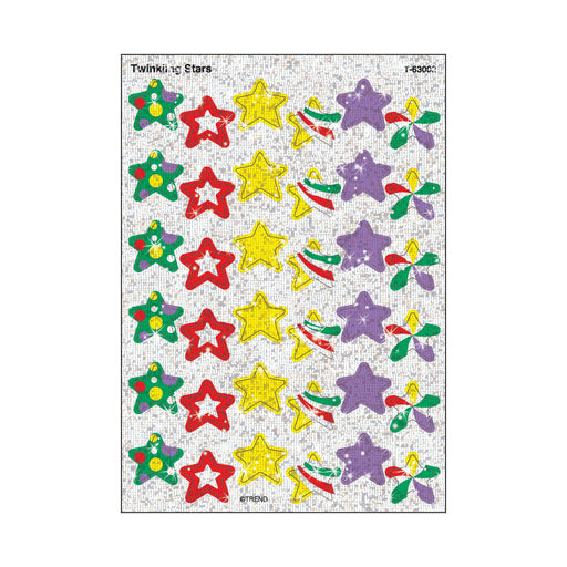 T63002 Stickers Sparkle Twinkle Stars