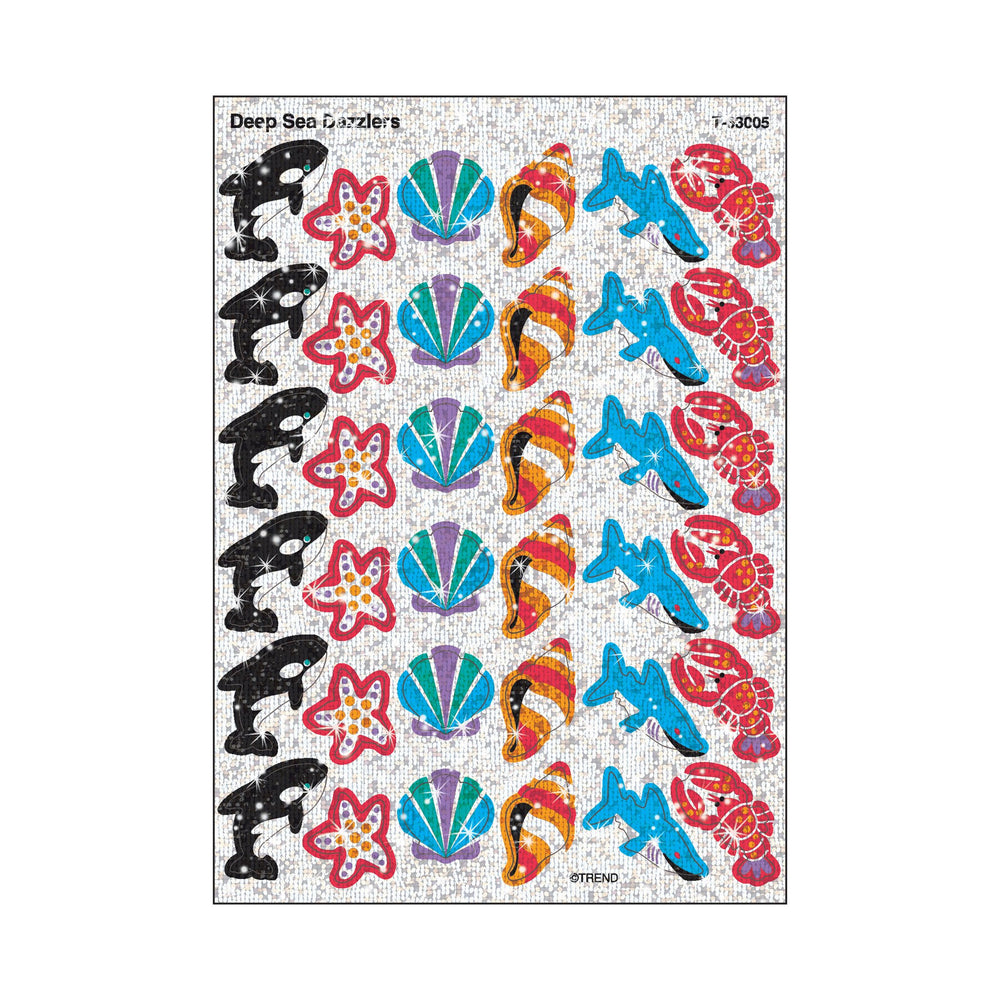 T63005 Stickers Sparkle Sea Life