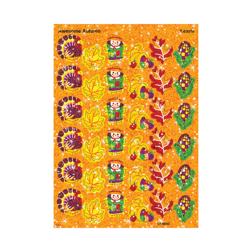 T63008 Stickers Sparkle Fall Autumn