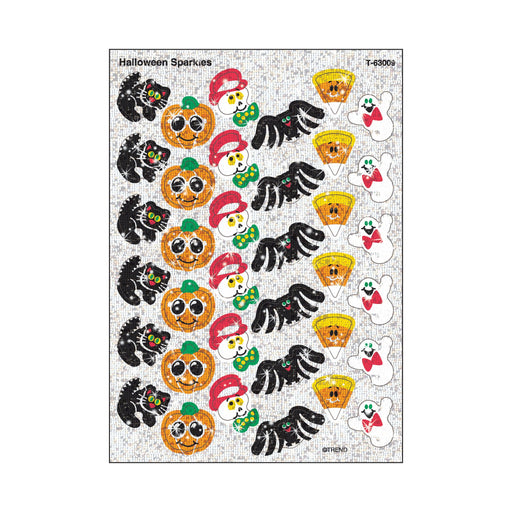 T63009 Stickers Sparkle Halloween