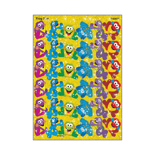 T63027 Stickers Sparkle Frog Fun