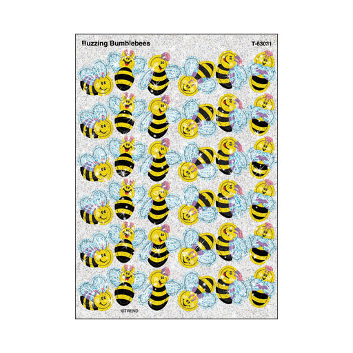 T63031 Stickers Sparkle Bumblebees