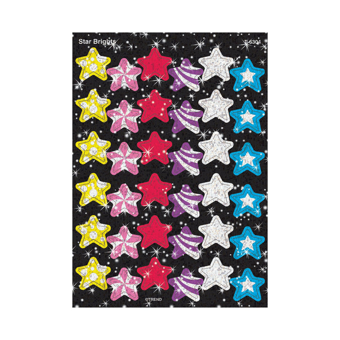 T6304 Stickers Sparkle Star Brights