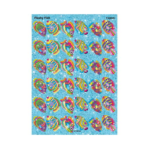 T63046 Stickers Sparkle Flashy Fish