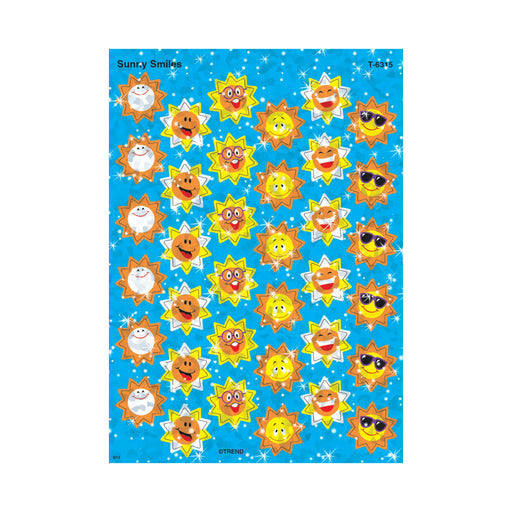 T6315 Stickers Sparkle Sunny Smiles