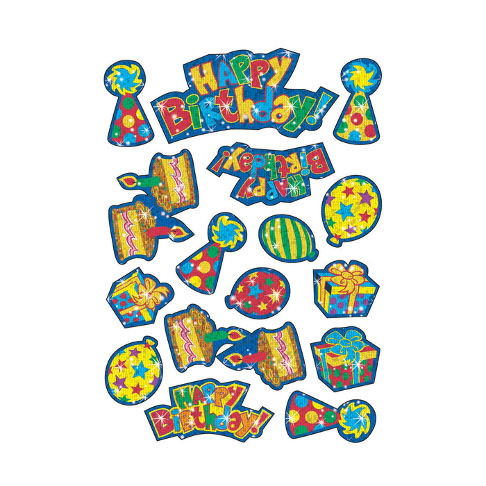 T63319 Stickers Sparkle Happy Birthday