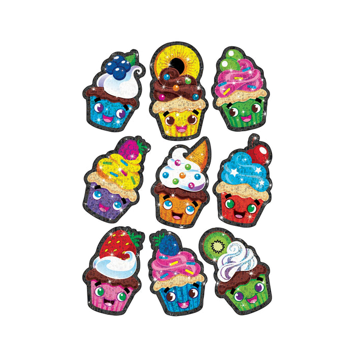 T63358 Stickers Sparkle Cupcake Cuties