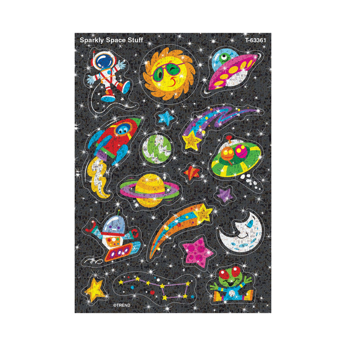 T63361 Stickers Sparkle Outer Space