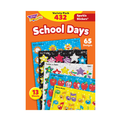 T63901 Sticker Variety Pack School Days