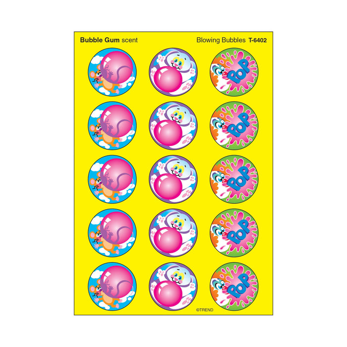 T6402 Stickers Scratch n Sniff Bubble Gum