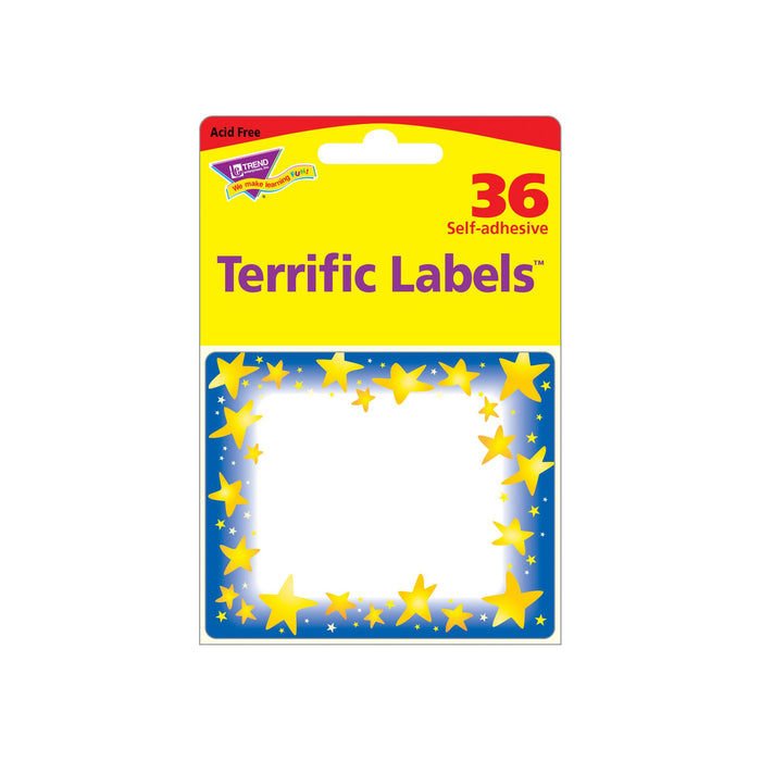 T68022 Name Tags Star Bright Package