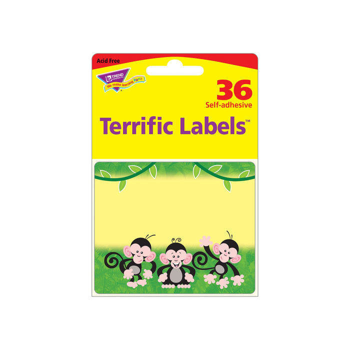 T68024 Name Tags Monkey Mischief Package