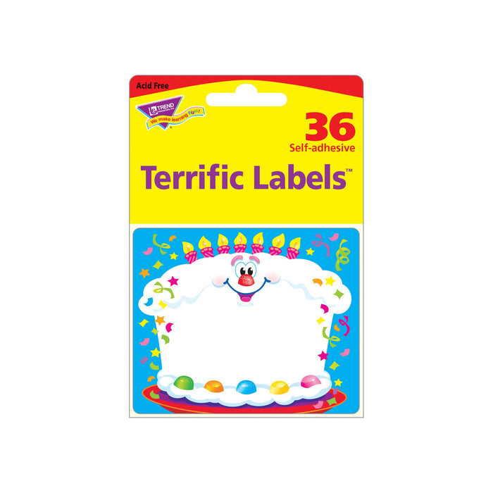 T68031 Name Tags Happy Birthday Package