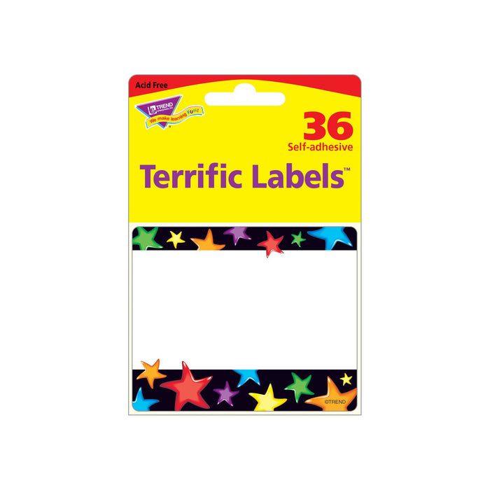 T68037 Name Tags Gel Star Package