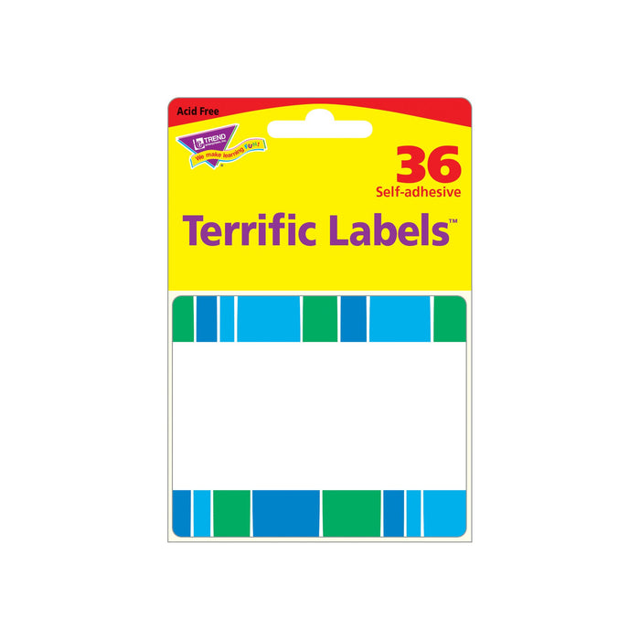 T68044 Name Tags Stripe Cool Blue Package