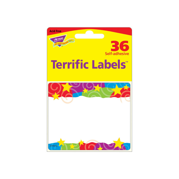 T68070 Name Tags Stars Swirls Package