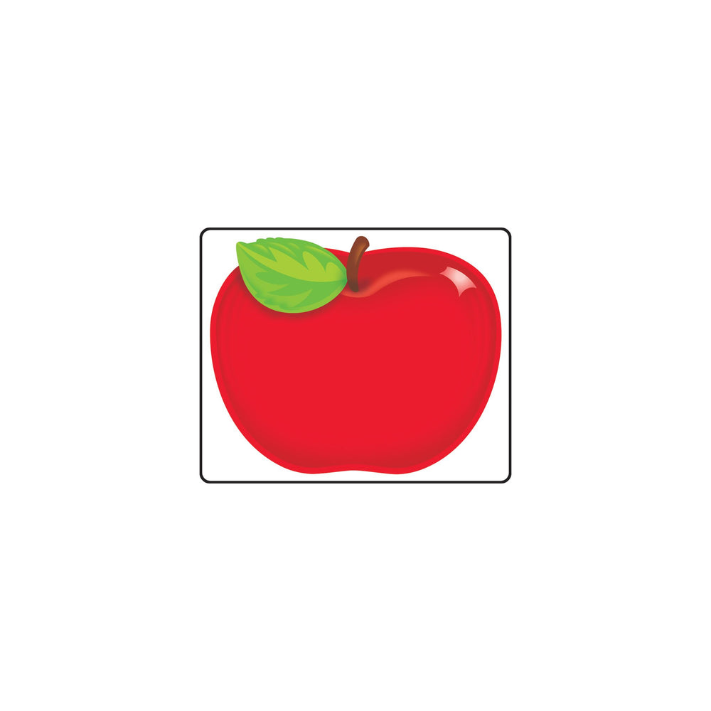 T68080 Name Tags Red Apple