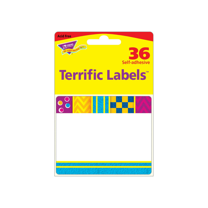 T68092 Name Tags Snazzy Package