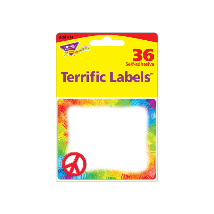 T68114 Name Tags Peace Sign Package