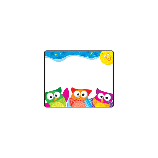 T68117 Name Tags Owl Stars