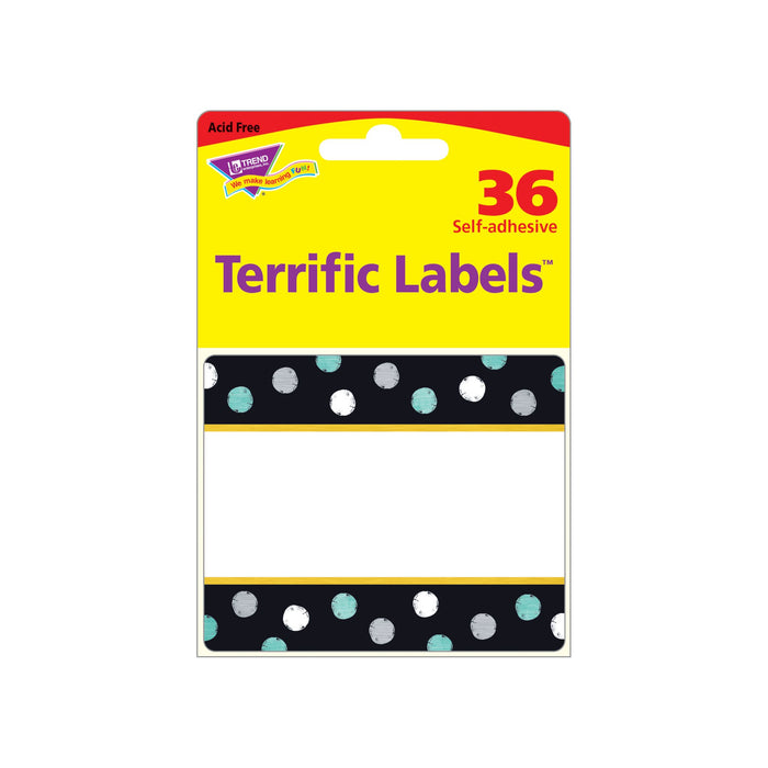 T68125 Name Tags Metal Dots Package